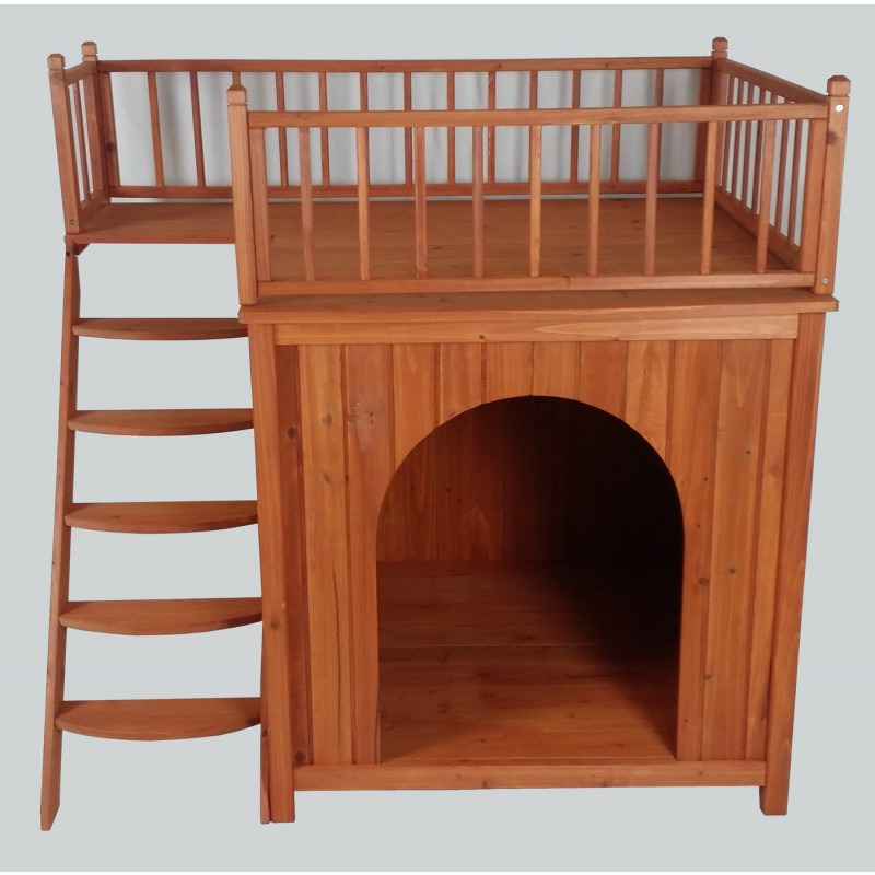 X Large Wooden Cat House Timber Dog Kennel Wood House