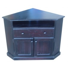 Tv Corner Unit Timber With Drawer
