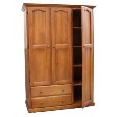 Mudgee 1200w 3 Door 2 Drawer Combo Robe