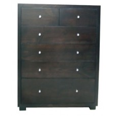 Retro 6 Drawer Tallboy